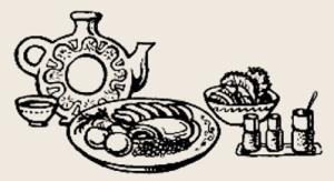 говядина шпигованная овощами