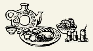 говядина варёная в винном соусе с грибами
