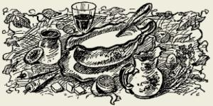 соус белый мясной с грибами
