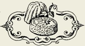 Коврижка сладкая с вареньем