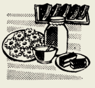 Печенье глазированное с повидлом и орехами