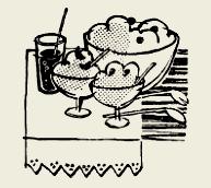 Чернослив в сметане с сахаром и орехами