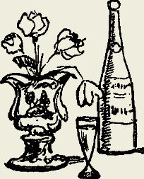Напиток из клубники с коньяком