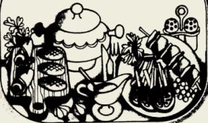 Биточки мясные, запечённые в сметане с картофелем