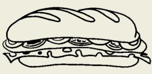 Бутерброды с бужениной по-муромски