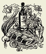 Рыба в маринаде с вином и маслинами