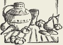 Винегрет с фасолью и грибами