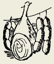 Салат с колбасой или с ветчиной