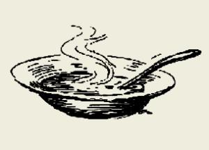 Суп овощной, суп зелёный