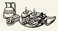 бутерброды с массой из ветчины