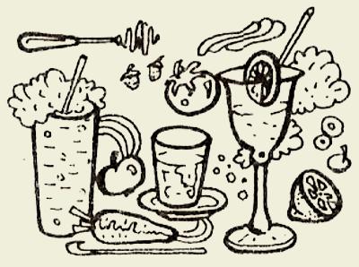 коктейль молочно-абрикосовый с яйцом