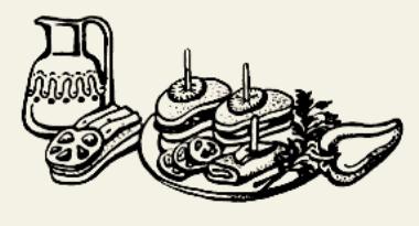 Бутерброды с сельдью и яйцом