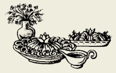 Салат из грибов, сыра и фруктов