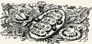 Рыба в сметанном соусе с яйцом