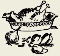 Курица тушёная со сметаной и яйцом