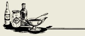 cоус из солёных огурцов с хреном и горчицей