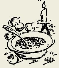 Суп сладкий из кураги и изюма