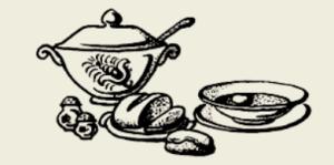 Бульон с курицей и овощами