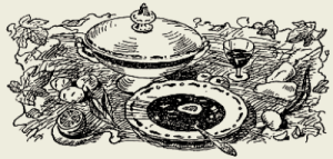 Суп-пюре из шпината и картофеля