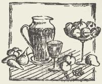 Морс клюквенный с лимоном и мёдом