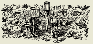 Напиток малиновый с вином