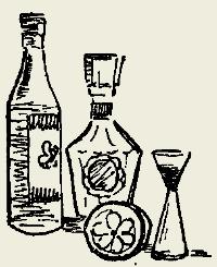 Пунш яично-молочный с водкой и коньяком