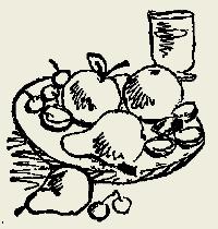 Яблоки запечённые с мёдом и орехами