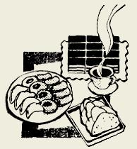 Пирожное бисквитное с кремом