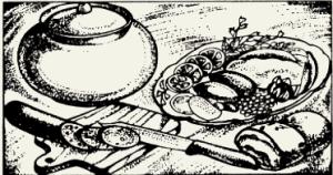 Шницель из свинины в томатном соусе с грибами