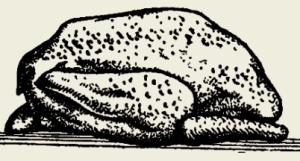 Утка тушёная в винном соусе с яблоками
