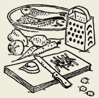 Рыба тушёная по-сахалински
