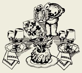 Кекс домашний с изюмом и орехами