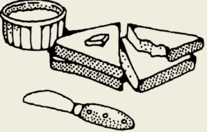 Бутерброды с брынзой