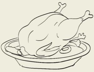 Курица варёная