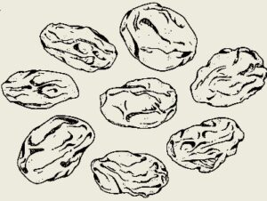 Запеканка пшённая с изюмом