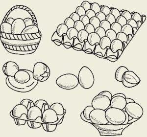 Яйца под соусом